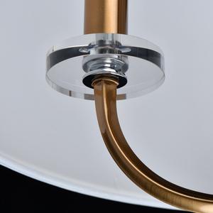 Lampă cu pandantiv Palermo Elegance 5 Brass - 386017605 small 7