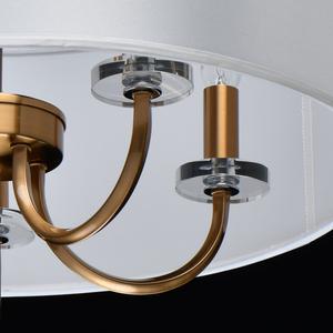 Lampă cu pandantiv Palermo Elegance 5 Brass - 386017605 small 9