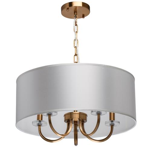 Lampă cu pandantiv Palermo Elegance 5 Brass - 386017605
