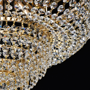 Lampa suspendată Patricia Crystal 6 Gold - 447011406 small 10