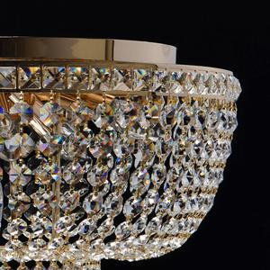 Lampa suspendată Patricia Crystal 6 Gold - 447011406 small 2