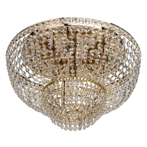 Lampa suspendată Patricia Crystal 6 Gold - 447011406 small 0