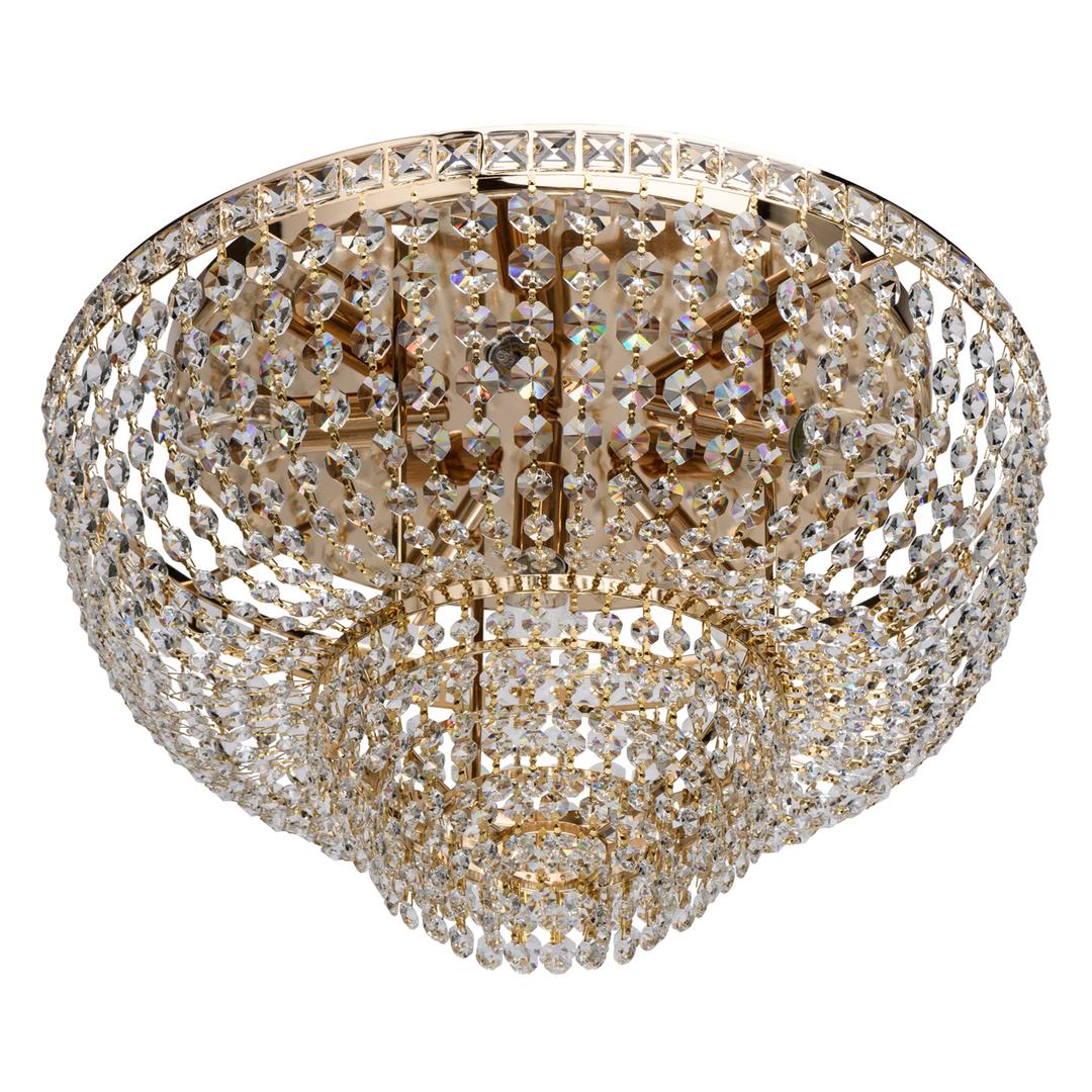 Lampa suspendată Patricia Crystal 6 Gold - 447011406
