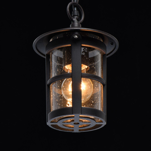 Lampa suspendată Glasgow Street 1 Negru - 806011001 small 4