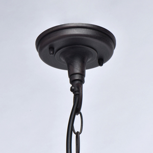 Lampa suspendată Glasgow Street 1 Negru - 806011001 small 7