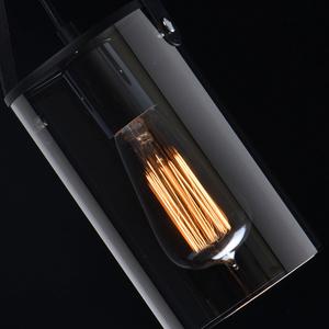 Lampa suspendată Alpha Megapolis 1 Negru - 673014701 small 6