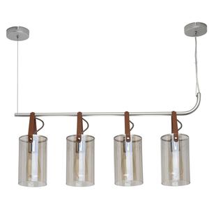 Lampa suspendată Alpha Megapolis 4 Silver - 673014604 small 0