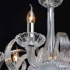 Lampa suspendată Ella Elegance 6 Chrome - 483013506 small 7