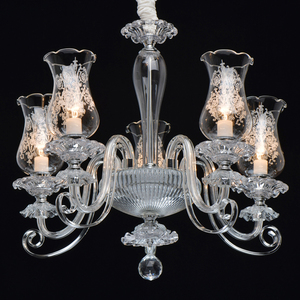 Lampa suspendată Ella Elegance 5 Chrome - 483013805 small 1