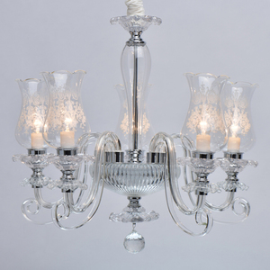 Lampa suspendată Ella Elegance 5 Chrome - 483013805 small 5