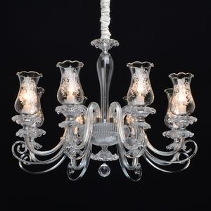 Lampa suspendată Ella Elegance 8 Chrome - 483013908 small 1