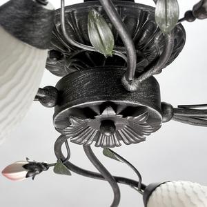 Lampa suspendată Verona Flora 4 Black - 334013504 small 10