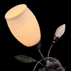 Lampa de perete Verona Flora 1 Negru - 334023701 small 3
