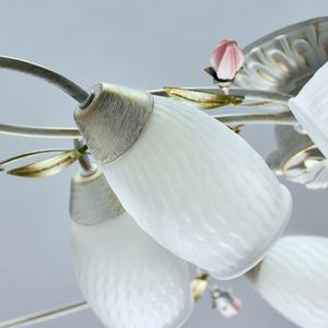 Lampa suspendată Verona Flora 8 Alb - 334013908 small 3