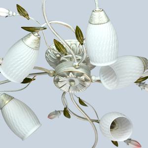 Lampa suspendată Verona Flora 8 Alb - 334013908 small 8
