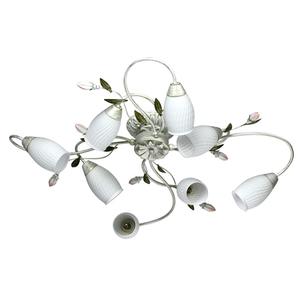 Lampa suspendată Verona Flora 8 Alb - 334013908 small 0