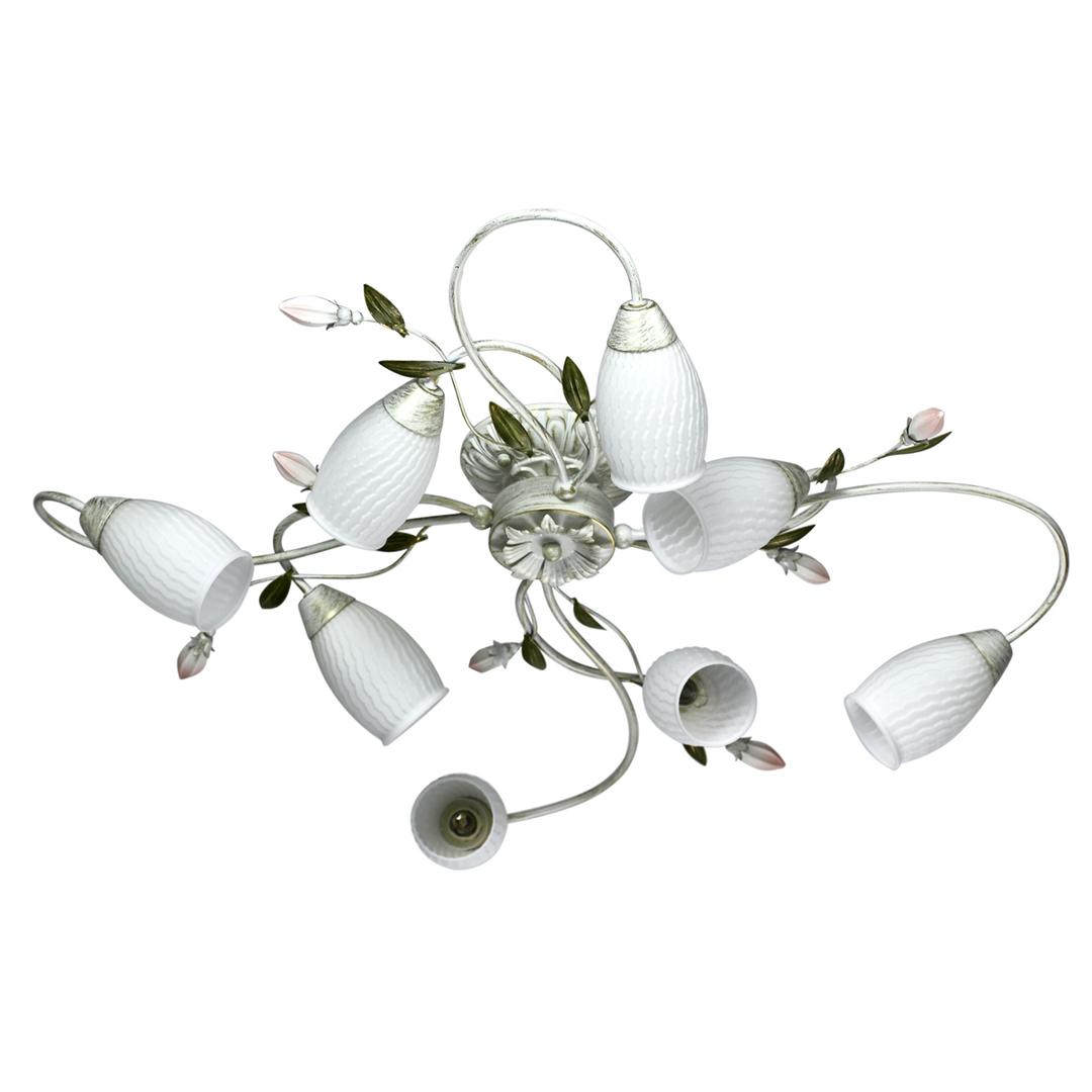 Lampa suspendată Verona Flora 8 Alb - 334013908