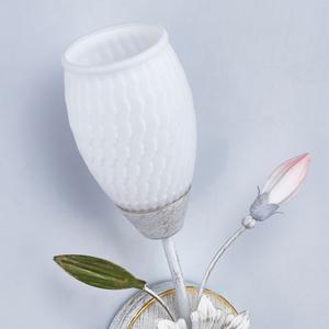 Lampa de perete Verona Flora 1 Alb - 334024001 small 2