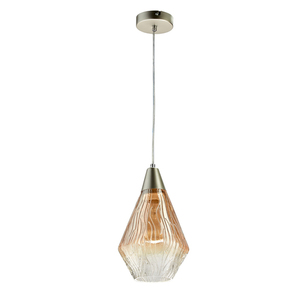 Lampa suspendată Chianti Megapolis 1 Argintiu - 720011701 small 0