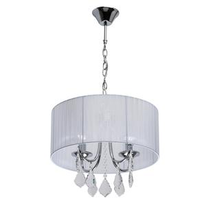 Jacqueline Elegance 4 lampă cu pandantiv crom - 465016104 small 0