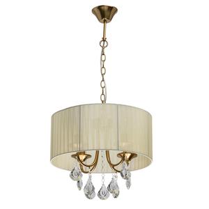 Lampa suspendată Jacqueline Elegance 4 Brass - 465016504 small 0