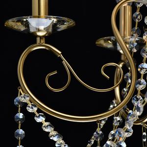 Lampa suspendată Selena Crystal 5 Brass - 482016305 small 9