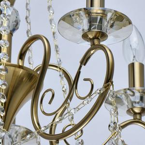 Lampa suspendată Selena Crystal 5 Brass - 482016305 small 10