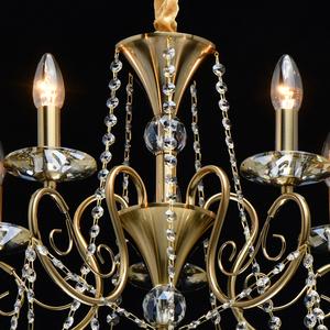Lampa suspendată Selena Crystal 5 Brass - 482016305 small 11