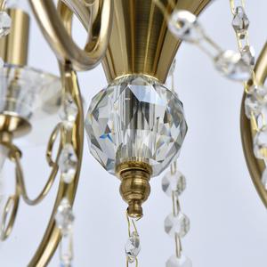 Lampa suspendată Selena Crystal 5 Brass - 482016305 small 13
