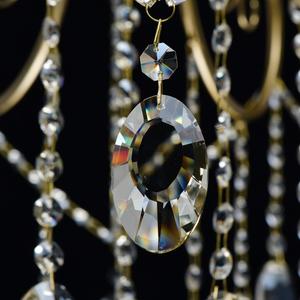 Lampa suspendată Selena Crystal 5 Brass - 482016305 small 3