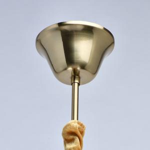 Lampa suspendată Selena Crystal 5 Brass - 482016305 small 4