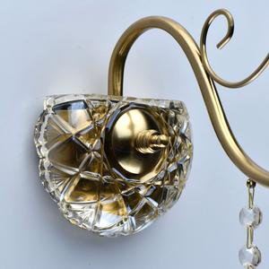 Lampă de perete Selena Crystal 1 Brass - 482026501 small 5