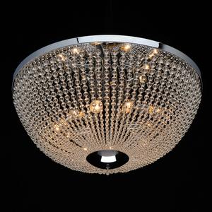 Lampa suspendată Venezia Crystal 10 Chrome - 111012510 small 1