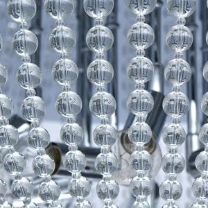 Lampa suspendată Venezia Crystal 10 Chrome - 111012510 small 6