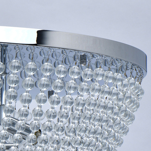 Lampa suspendată Venezia Crystal 10 Chrome - 111012510 small 8