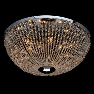Lampa suspendată Venezia Crystal 15 Chrome - 111012715 small 1