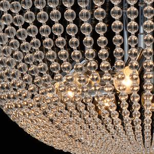 Lampa suspendată Venezia Crystal 15 Chrome - 111012715 small 5