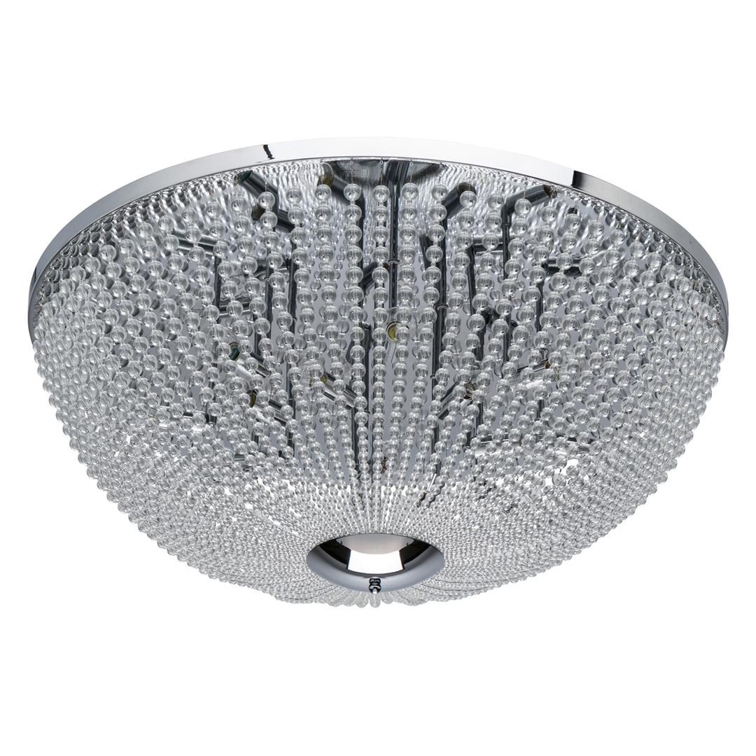 Lampa suspendată Venezia Crystal 15 Chrome - 111012715