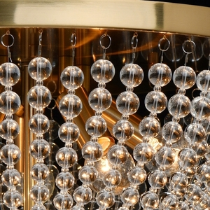 Lampa suspendată Venezia Crystal 5 Brass - 111012305 small 2