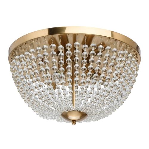 Lampa suspendată Venezia Crystal 5 Brass - 111012305