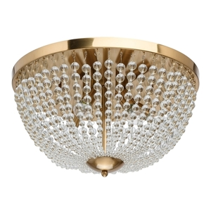 Lampa suspendată Venezia Crystal 5 Brass - 111012305 small 0