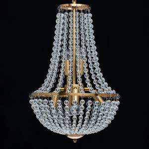 Lampa suspendată Venezia Crystal 6 Brass - 111012406 small 4