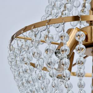 Lampa suspendată Venezia Crystal 6 Brass - 111012406 small 5