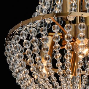Lampa suspendată Venezia Crystal 6 Brass - 111012406 small 6