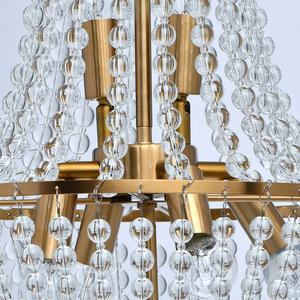 Lampa suspendată Venezia Crystal 6 Brass - 111012406 small 9