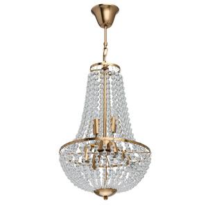 Lampa suspendată Venezia Crystal 6 Brass - 111012406 small 0