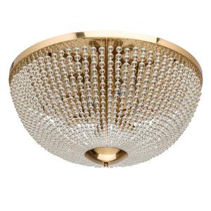 Lampa suspendată Venezia Crystal 10 Brass - 111012610 small 0