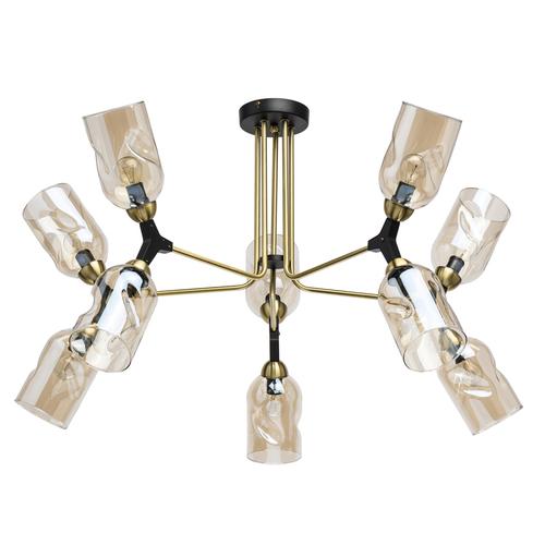 Lampa suspendată Hamburg Megapolis 10 Negru - 605013410
