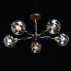 Lampa suspendată Hamburg Megapolis 5 Negru - 605012805 small 1
