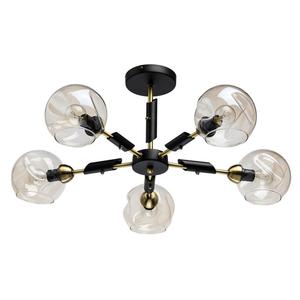 Lampa suspendată Hamburg Megapolis 5 Negru - 605012805 small 0